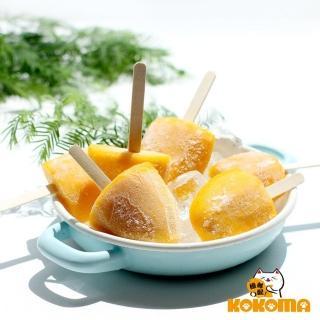 【極鮮配】純鮮果真芒果冰棒(5支/盒-2盒入)  極鮮配