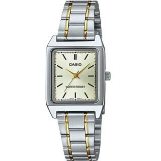 【CASIO 卡西歐】經典指針女錶 不鏽鋼錶帶 金色錶面 防水(LTP-V007SG-9E)強力推薦  CASIO 卡西歐