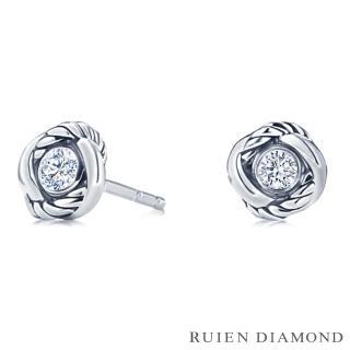 【RUIEN DIAMOND 瑞恩鑽石】輕珠寶系列 20分 鑽石(14K白金 鑽石耳環)  RUIEN DIAMOND 瑞恩鑽石