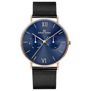 【Max Max】典雅時尚女士腕錶-深邃藍(MAS7018-4)真心推薦  Max Max