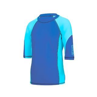 【Zoggs】青少年運動風短袖防曬衣-藍推薦折扣  Zoggs