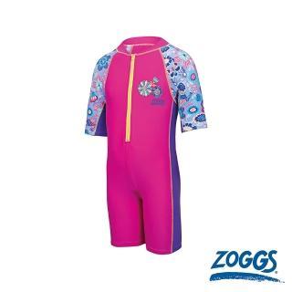 【Zoggs】幼童花花仙子整件式防曬泳衣強力推薦  Zoggs