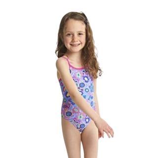 【Zoggs】幼童花花仙子花背連身泳衣強力推薦  Zoggs