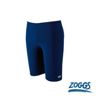 【Zoggs】少年基本款素色及膝泳褲-藍  Zoggs