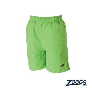 【Zoggs】少年基本款休閒海灘褲-萊姆綠強力推薦  Zoggs
