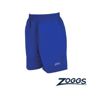 【Zoggs】少年基本款休閒海灘褲-亮藍  Zoggs