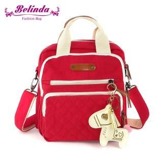 【Belinda】甜美小馬手提二用後背包-四色  Belinda