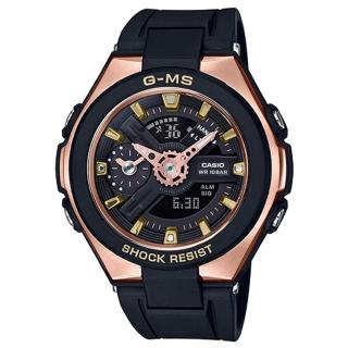 【CASIO 卡西歐】BABY G 雙顯女錶 防水100米 世界時間(MSG-400G-1A1)  CASIO 卡西歐