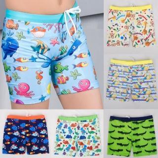 【小衣衫童裝】男童卡通圖案中長款泳褲(1070603)推薦折扣  小衣衫童裝