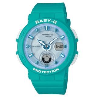 【CASIO 卡西歐】BABY-G 海洋元素運動錶-綠(BGA-250-2A)  CASIO 卡西歐