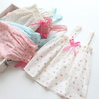 【小衣衫童裝】輕甜風柔柔棉紗背心上衣(1040519) 推薦  小衣衫童裝