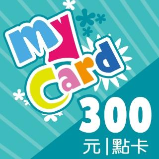 【MyCard】300點點數卡  MyCard