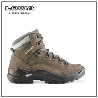 【LOWA】女 中筒多功能健行鞋 寬楦 淺棕 RENEGADE GTX MID Ws WIDE(LW320968-0925)  LOWA