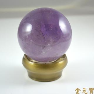 【金元寶】社交之石紫水晶球真心推薦  金元寶