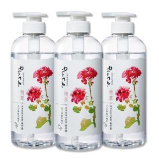 【脫普】精萃潤澤修護洗髮精(650gX3入組)  脫普