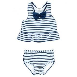 【美國 RuffleButts】小女童無袖比基尼泳裝_藍蝴蝶結條紋(RBSW10-07)好評推薦  美國 RuffleButts
