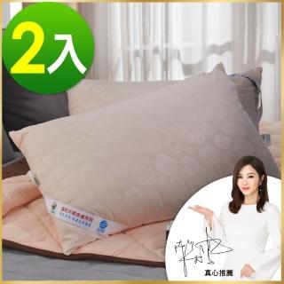 【卓瑩】遠紅外線科技枕 未滅菌 贈多功能萬用枕巾(超值二入組)  卓瑩