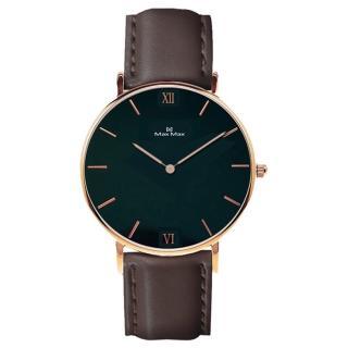 【Max Max】時尚美學皮帶錶-咖啡黑(MAS7025-1) 推薦  Max Max
