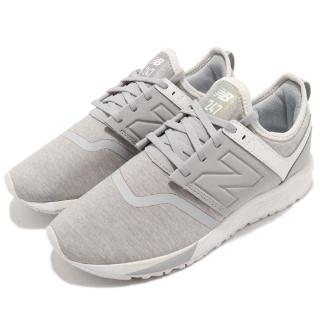 【NEW BALANCE】慢跑鞋 WRL247YDB 女鞋 紐巴倫 低筒 休閒 襪套 輕量 穿搭 灰 白(WRL247YDB)  NEW BALANCE