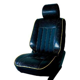 【葵花】量身訂做-汽車椅套-日式合成皮-鱷魚麂皮(雙前座-第一排)強力推薦  葵花