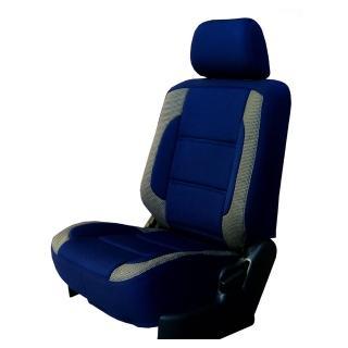 【葵花】量身訂做-汽車椅套-日式合成皮-賽車展翅型配色(雙前座-第一排)  葵花