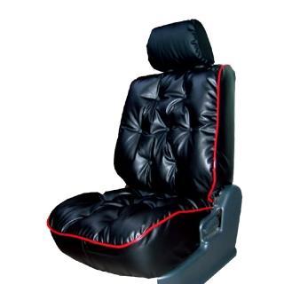 【葵花】量身訂做-汽車椅套-日式合成皮-舒適配色-C款(雙前座-第一排) 推薦  葵花
