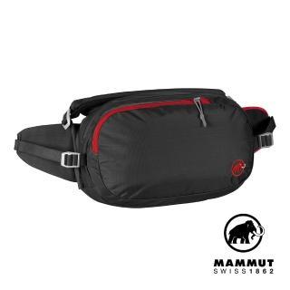 【Mammut 長毛象】Waistpack Hike 8L 健行腰包 黑色 #2520-00520(健行腰包)  Mammut 長毛象