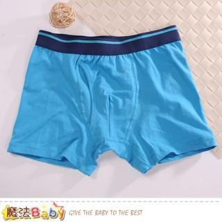 【魔法Baby】男性內褲 二件一組 精梳棉彈性平口內褲(k50866)強力推薦  魔法Baby