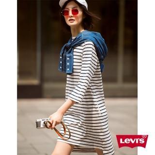 【LEVIS】連身洋裝 / 黑白條紋  LEVIS