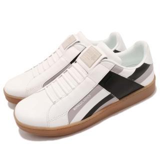 【ROYAL Elastics】休閒鞋 Icon 運動 男鞋 低筒 真皮 橡膠鞋底 PU鞋墊 休閒 白 黑(02983980)真心推薦  ROYAL Elastics