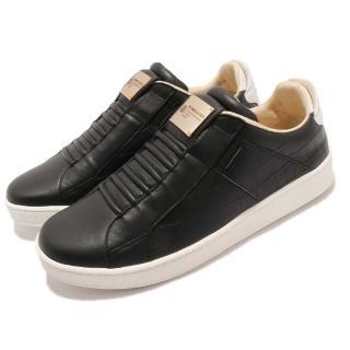 【ROYAL Elastics】休閒鞋 Icon 運動 男鞋 低筒 真皮 PU鞋墊 休閒 穿搭 黑 銀(02583990)  ROYAL Elastics