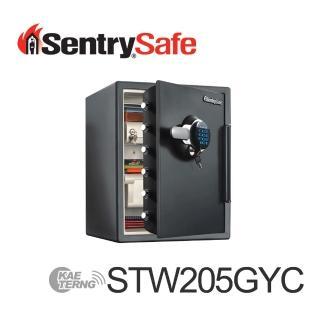 【Sentry Safe】電子密碼鎖防火防水金庫(大) STW205GYC(凱騰經銷) 推薦  Sentry Safe