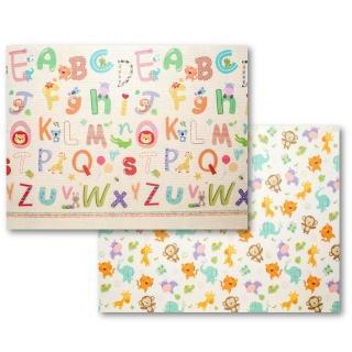 【Mang Mang 小鹿蔓蔓】雙面PE遊戲地墊(動物ABC)  Mang Mang 小鹿蔓蔓