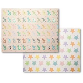 【Mang Mang 小鹿蔓蔓】雙面PE遊戲地墊(搖搖馬)推薦折扣  Mang Mang 小鹿蔓蔓