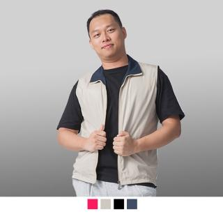 【男人幫】大尺碼台製時尚配條網裡背心(P5688)  男人幫