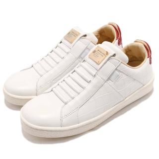 【ROYAL Elastics】休閒鞋 Icon 運動 女鞋 低筒 皮革 懶人鞋 橡膠底 穿搭 白 紅(92583081) 推薦  ROYAL Elastics