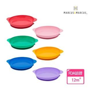 【MARCUS&MARCUS】動物樂園幼兒學習吸力餐盤(多款任選)  MARCUS&MARCUS