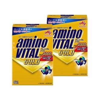 【味之素】amino VITAL GOLD 黃金級胺基酸粉末 2盒組 (14包/盒) 推薦  Ajinomoto 味之素