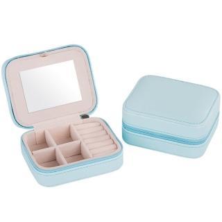 【梨花HaNA】韓國完美輕旅行粉嫩色系攜帶式迷你珠寶盒首飾盒  梨花HaNA