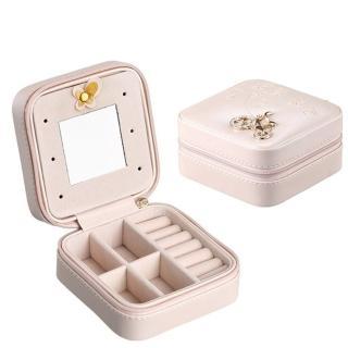 【梨花HaNA】韓國巴黎旅行去攜帶式迷你珠寶盒首飾盒強力推薦  梨花HaNA