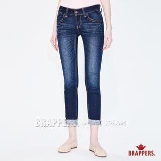 【BRAPPERS】女款 新美腳Royal系列-彈性鑲鑽窄管褲(深藍)好評推薦  BRAPPERS