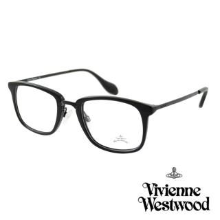 【Vivienne Westwood】英國Anglomania英倫簡約光學眼鏡(黑 AN343M01)好評推薦  Vivienne Westwood