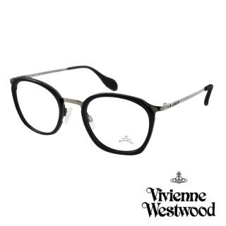 【Vivienne Westwood】英國Anglomania英倫簡約光學眼鏡(黑 AN344M01)強力推薦  Vivienne Westwood
