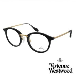 【Vivienne Westwood】英國Anglomania英倫簡約光學眼鏡(黑色 AN345M01)真心推薦  Vivienne Westwood