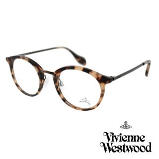 【Vivienne Westwood】英國Anglomania英倫簡約光學眼鏡(淺琥珀 AN345M02)強力推薦  Vivienne Westwood