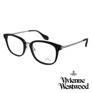 【Vivienne Westwood】英國Anglomania英倫簡約光學眼鏡(黑色 AN346M01)  Vivienne Westwood
