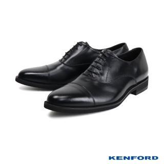 【KENFORD】經典橫飾牛津鞋/紳士鞋(黑色 KN62-BL)  KENFORD