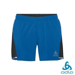 【ODLO】男 ZEROWEIGHT 2in1跑步短褲(深藍/黑)推薦折扣  ODLO