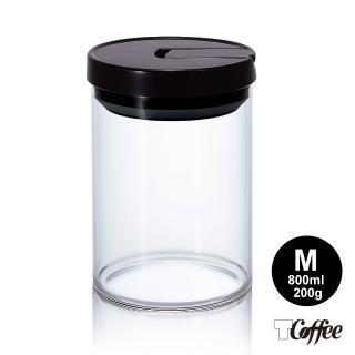 【TCoffee】HARIO 咖啡保鮮罐 黑色 M(800 ml)推薦折扣  TCoffee