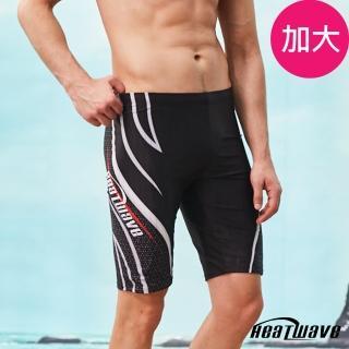 【Heatwave 熱浪】加大男泳褲 七分馬褲-追浪361(M-2XL)  Heatwave 熱浪